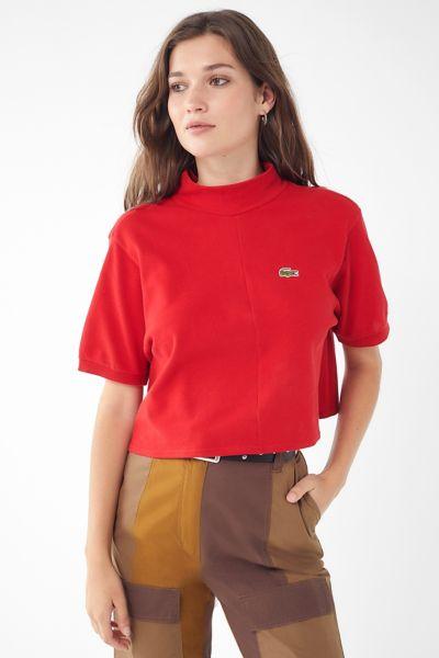 Urban Renewal Remade Mock-Neck Polo Shirt