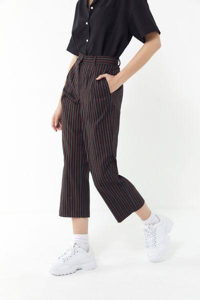 Urban Renewal Remnants Stripe Wide Leg Trouser Pant