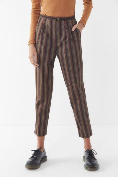 Urban Renewal Remnants Striped Trouser Pant