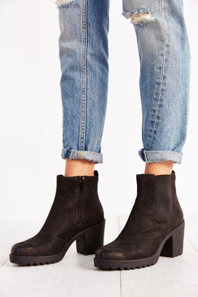 Vagabond Shoemakers Grace Platform Leather Ankle Boot