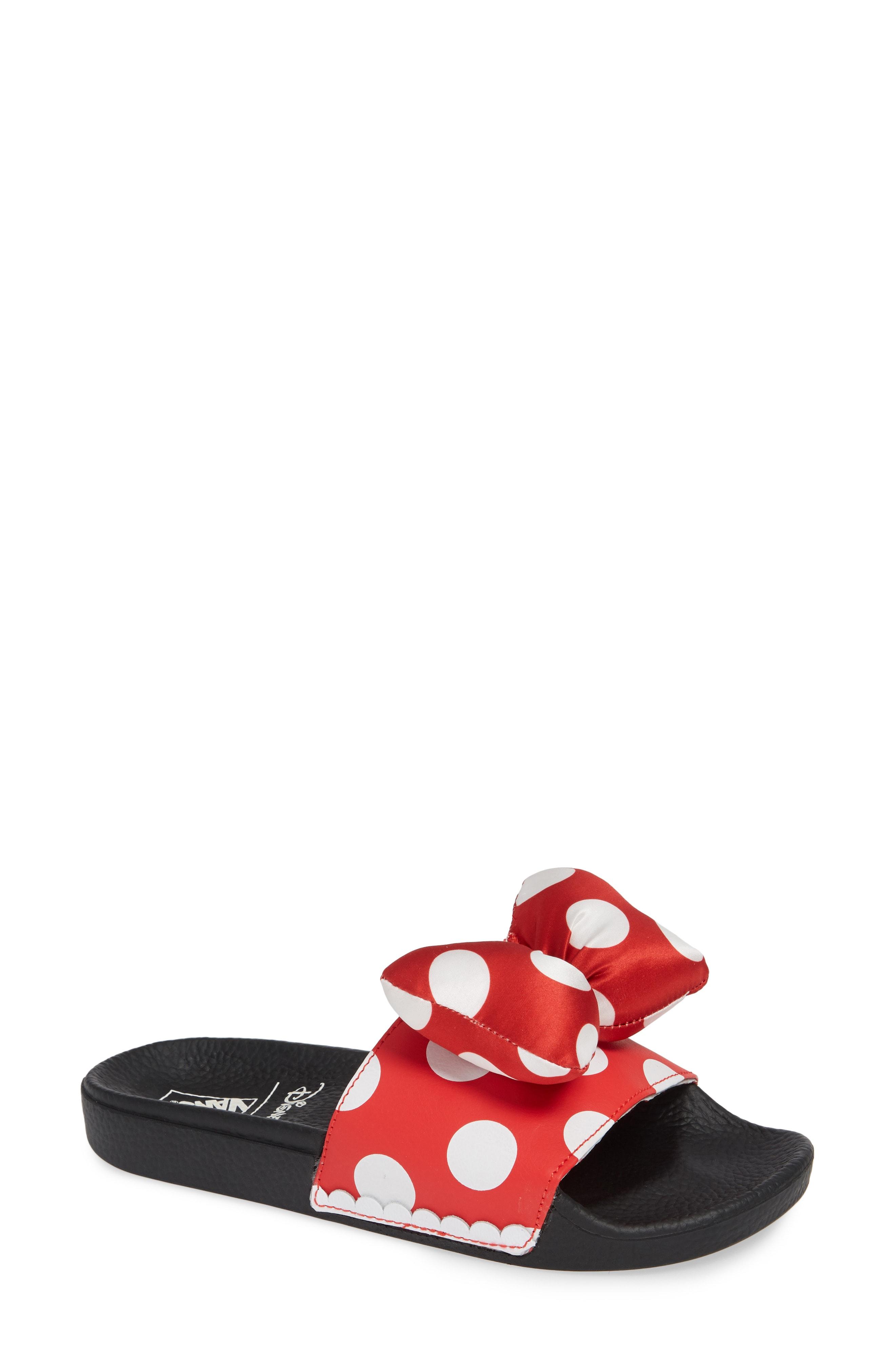 Vans x Disney Minnie Mouse Slide Sandal (Women)