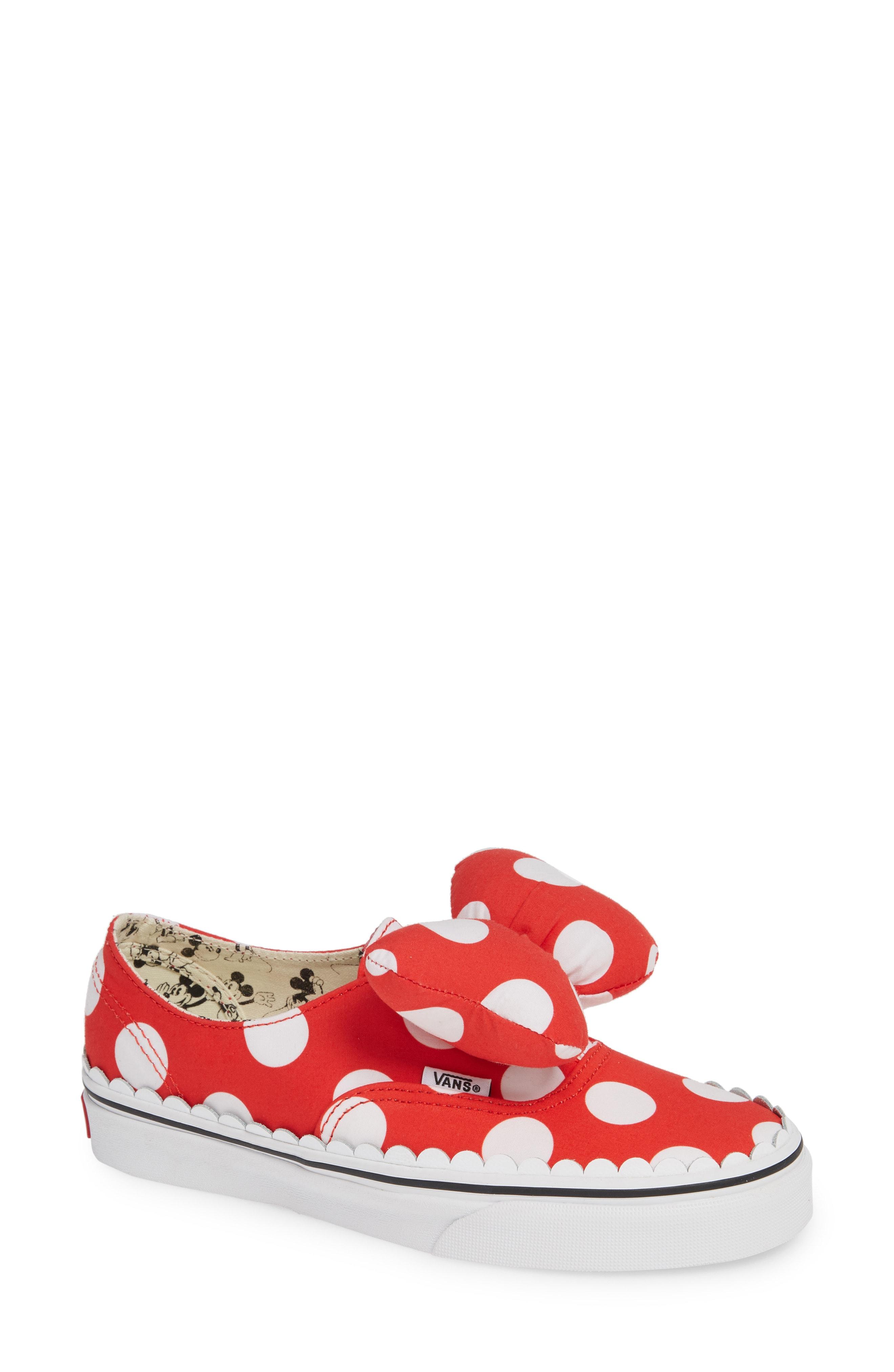 Vans x Disney Minnie Mouse UA Authentic Gore Low-Top Sneaker (Women)