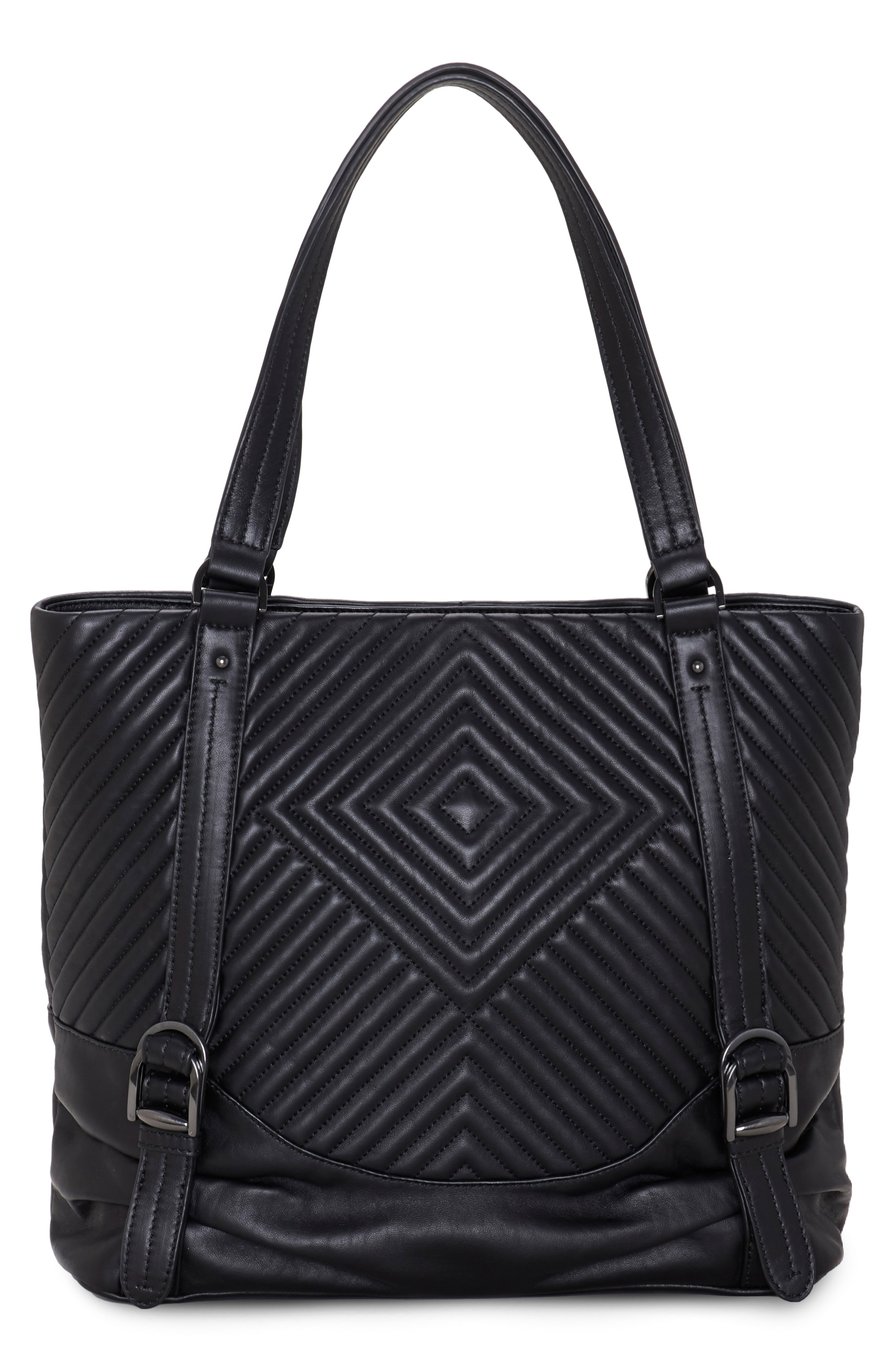 Vince Camuto Tave Quilted Leather Tote
