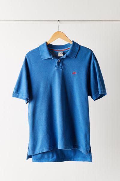Vintage Nike Blue Polo Shirt