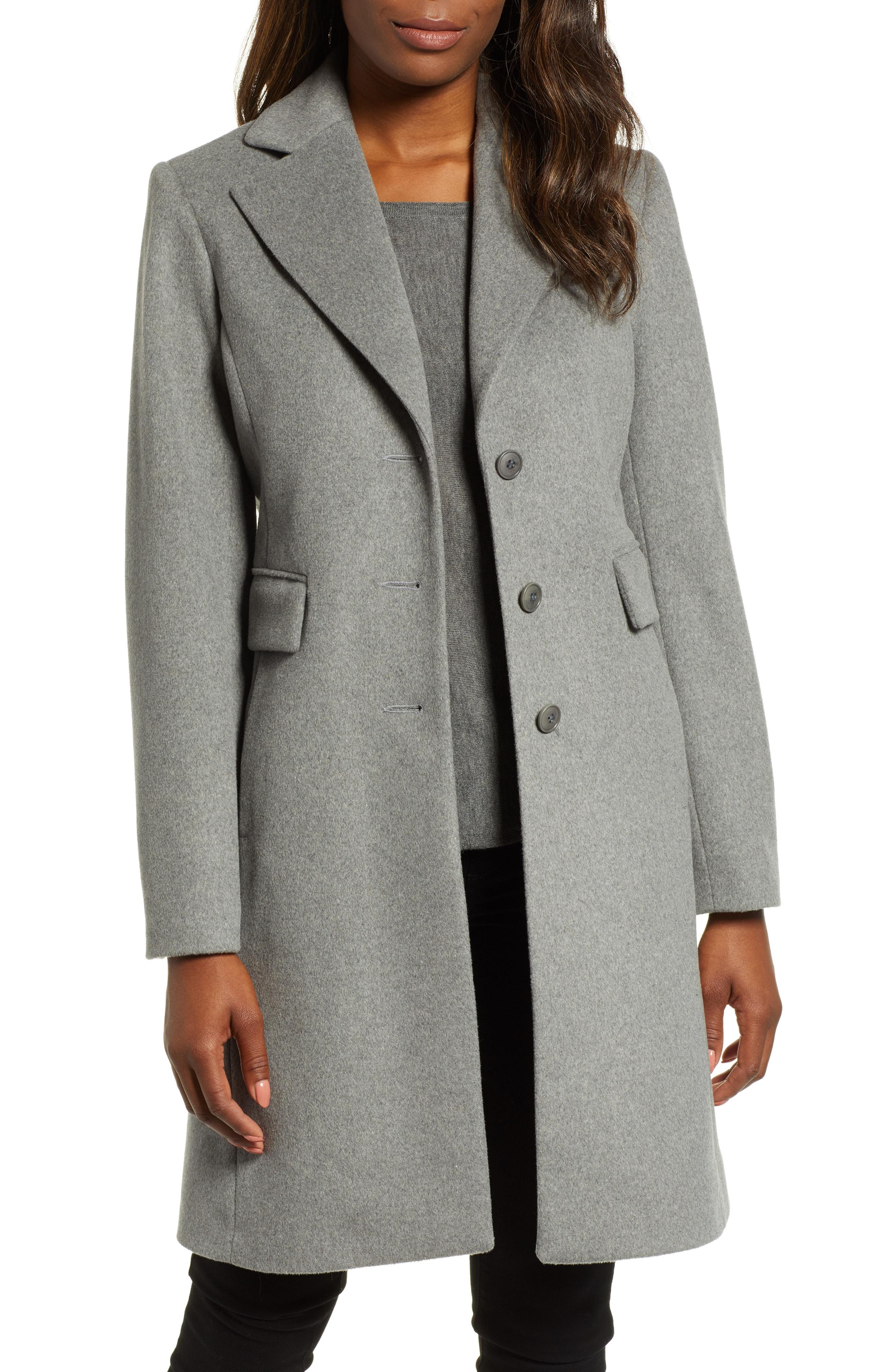 Kristen Blake Walking Coat (Regular & Petite)