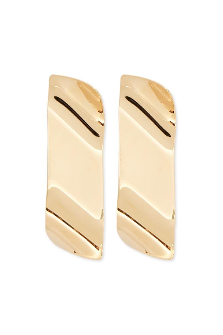 F21 Wavy Drop Earrings