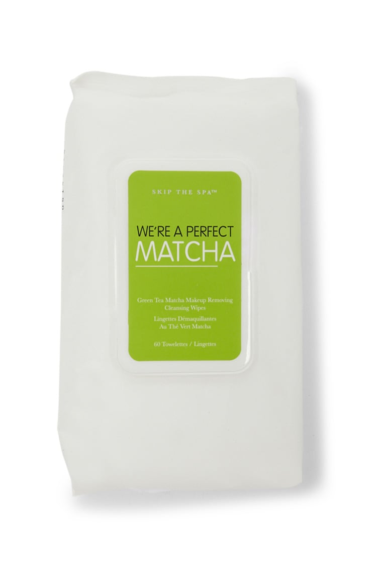 F21 We're A Perfect Matcha Cleansing Wipes