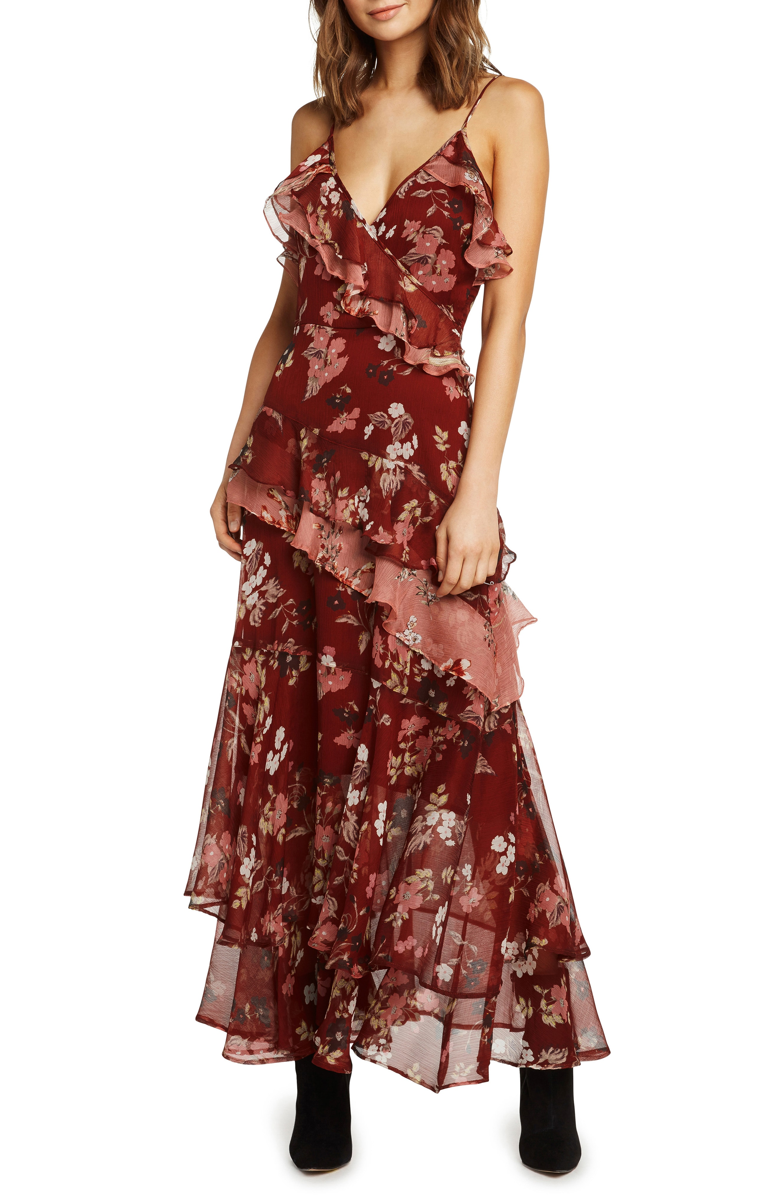 Willow & Clay Tiered Ruffle Maxi Dress