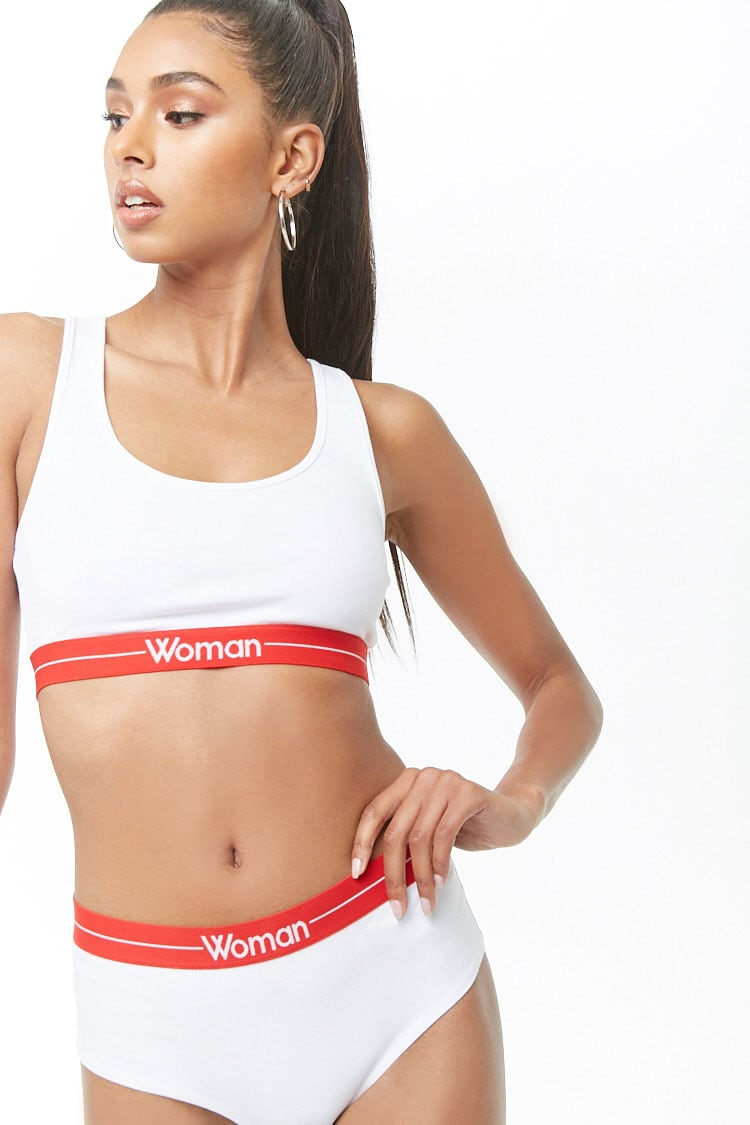 F21 Woman Graphic Boyshort Panty