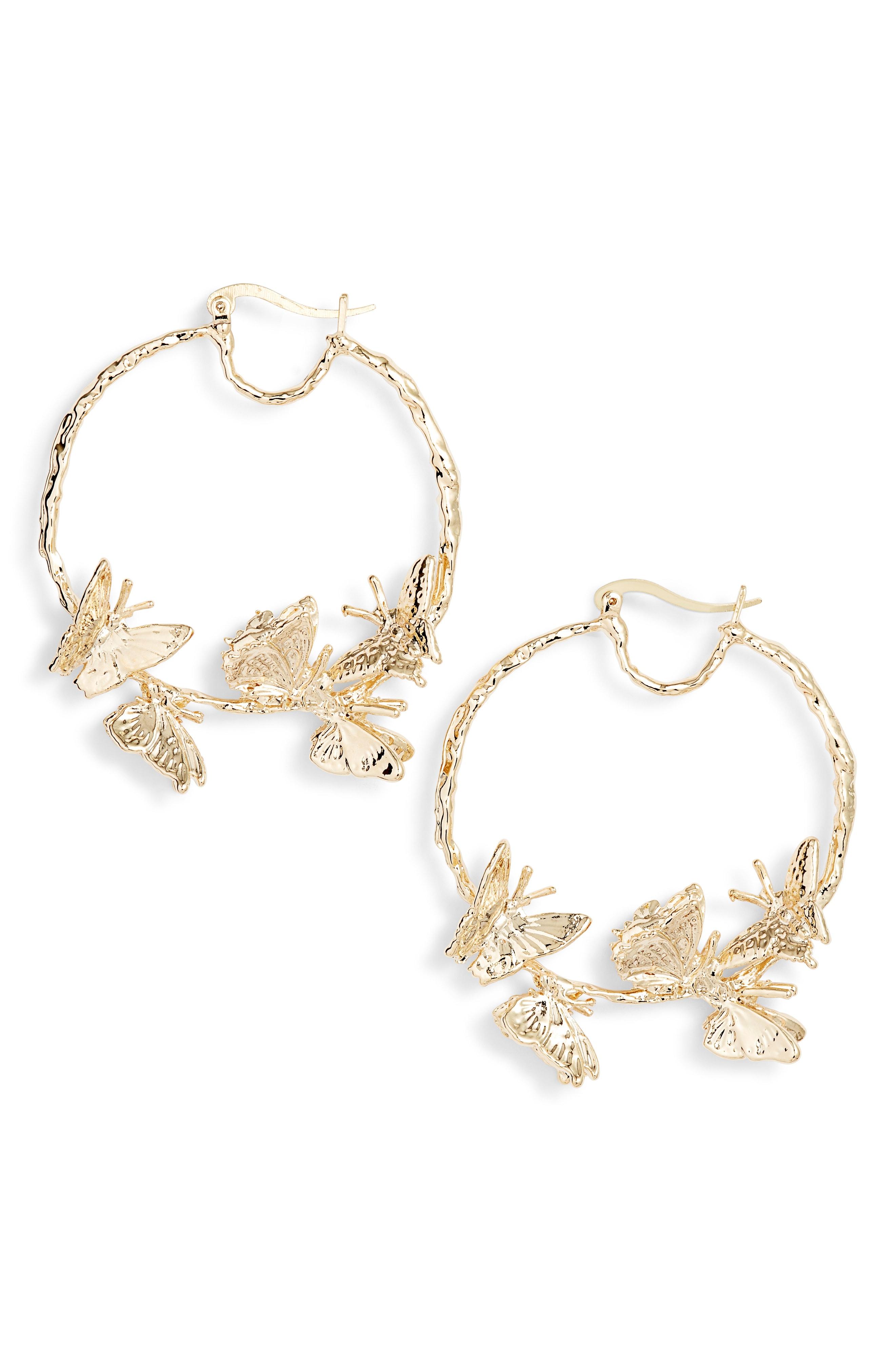 ZHUU Flutter Hoop Earrings